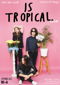 IS TROPICAL-MA